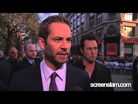 Fast & Furious: 6 UK Premiere Interview with Paul Walker