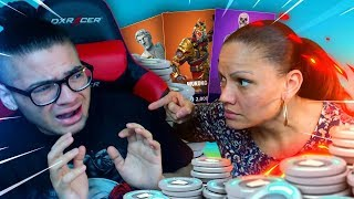 Mom reacts to how much money i've spent on FORTNITE *SKINS*...(She Freaked Out!) $5000