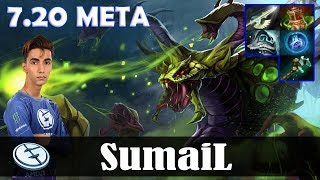 SumaiL - Venomancer MID | 7.20 Update Patch | Dota 2 Pro MMR Gameplay