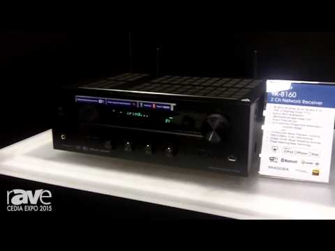 CEDIA 2015: Onkyo Shows TX-8160, A Two Channel Networking Receiver with Bluetooth, Wi-fi & Airplay