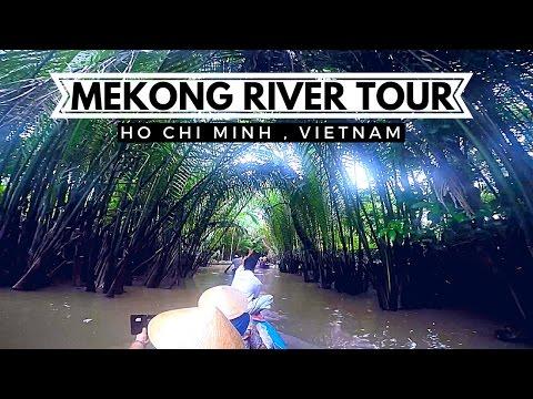 GOPRO TRAVEL VLOG Mekong River Tour | Ho Chi Minh Vietnam