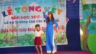 """Cô và Bé múa """" Ngày đầu tiên đi học""""- Trường MN Tương Lai Bình Dương"""