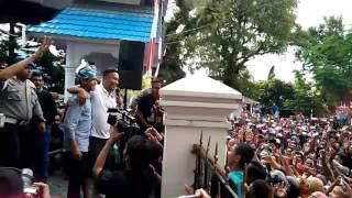 FILDAN D'A 4 Menyapa Ribuan Pendukungnya Saat Pulang Kampung di Kota Baubau