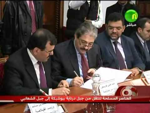 image vidéo الإمضاء على محضر إتفاق بين الإتحاد و الحكومة