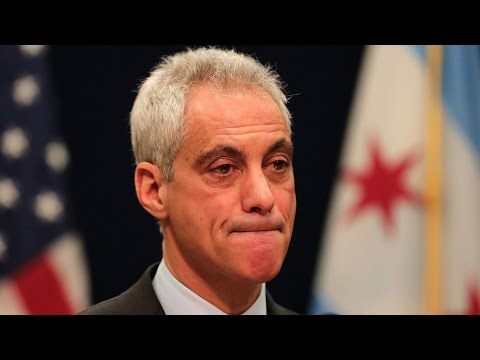 Chicago Mayor Rahm Emanuel holds news conference
