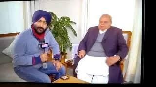 JK Governor Satya Pal Malik speaks exclusive to Pradeep Dutta of Timesnow