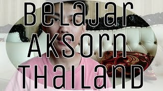 Belajar Bahasa Thailand [ Huruf/Aksorn Thailand - Konsonan ]