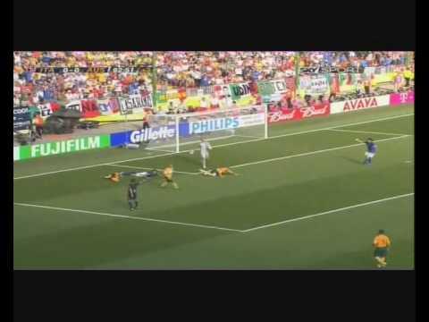 Italia - Australia 1 - 0 Gol Francesco Totti, commento Fabio Caressa!