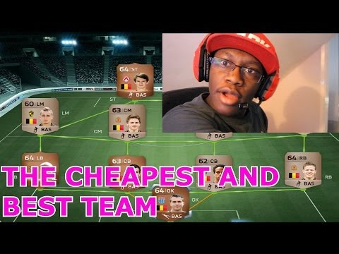 Fifa 14 — THE BEST AND CHEAPEST TEAM