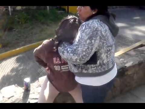 Prepotencia vs embarazada en Pátzcuaro