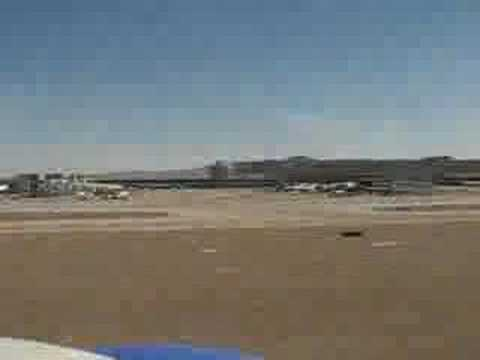 Landing at Phoenix Sky Harbor Airport (May 2007) Video