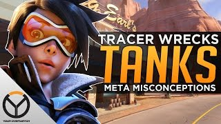 Overwatch: Tracer Vs. Tanks - Meta Misconceptions