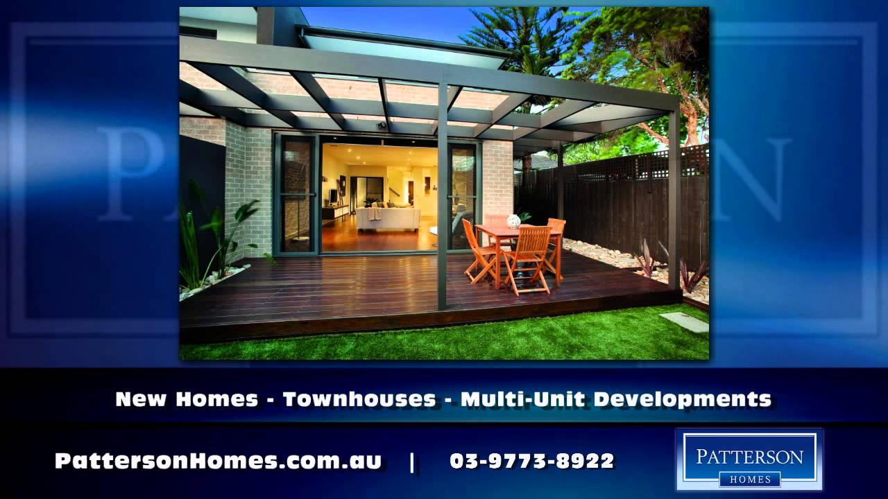 Home Townhouse Builder Melbourne Vic Patterson Homes