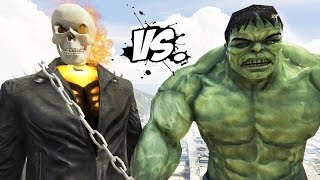 THE HULK VS GHOST RIDER - EPIC SUPERHEROES BATTLE | DEATH FIGHT