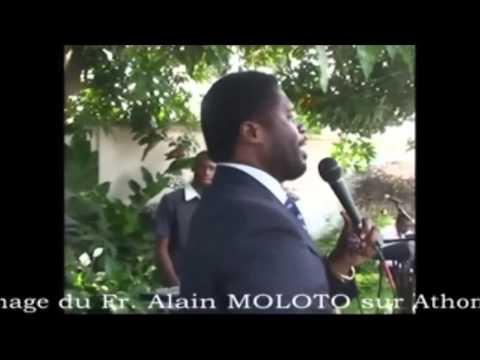 Alain Moloto prophetise sa succession sur Athoms sans le savoir