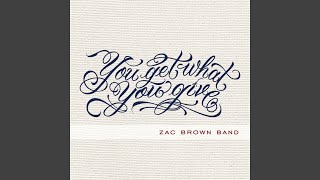 Zac Brown Band Let It Go