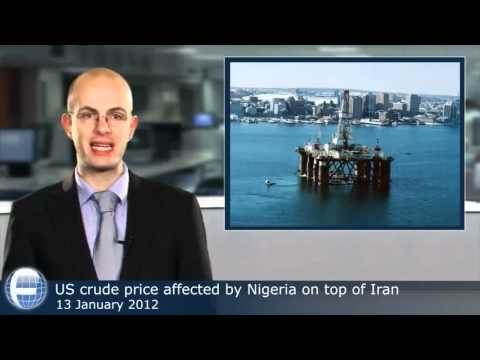 US crude price affected by Nigeria on top of Iran