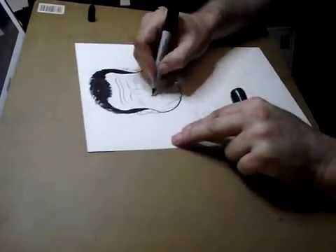 Robin Williams Caricature Tribute