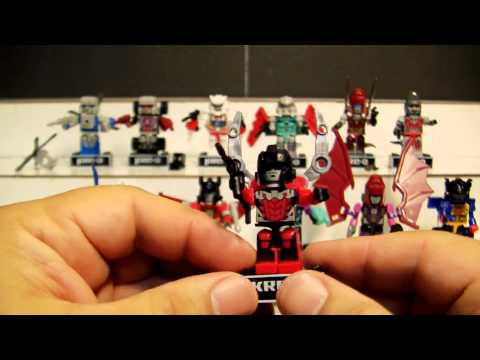 Kre O Transformers 2014 Collection 1 (G1 and Age of Extinction) full set review.