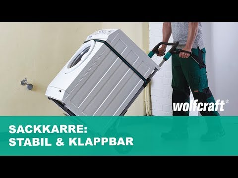 Klappbare & stabile Sackkarre - Tragkraft bis zu 200Kg | wolfcraft