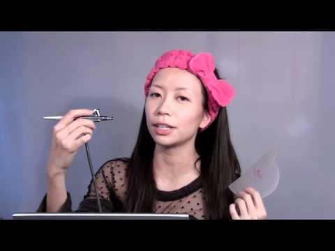 Cheap Airbrush Makeup on Airbrush Makeup Diy Tutorial                              Part I