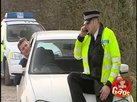 JFL Hidden Camera Pranks & Gags: Policeman Calls Friends