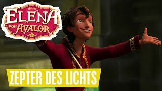 ELENA VON AVALOR - Clip: Zepter des Lichts | Disney Channel