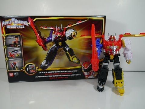 Review: Build & Morph Gosei Great Megazord (Power Rangers Megaforce)