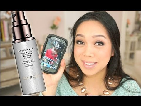 Miracle Foundation for Oily Skin? Hourglass Immaculate Liquid to Powder Foundation review