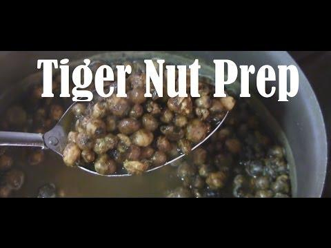 как приготовить тигровые орешки для рыбалки