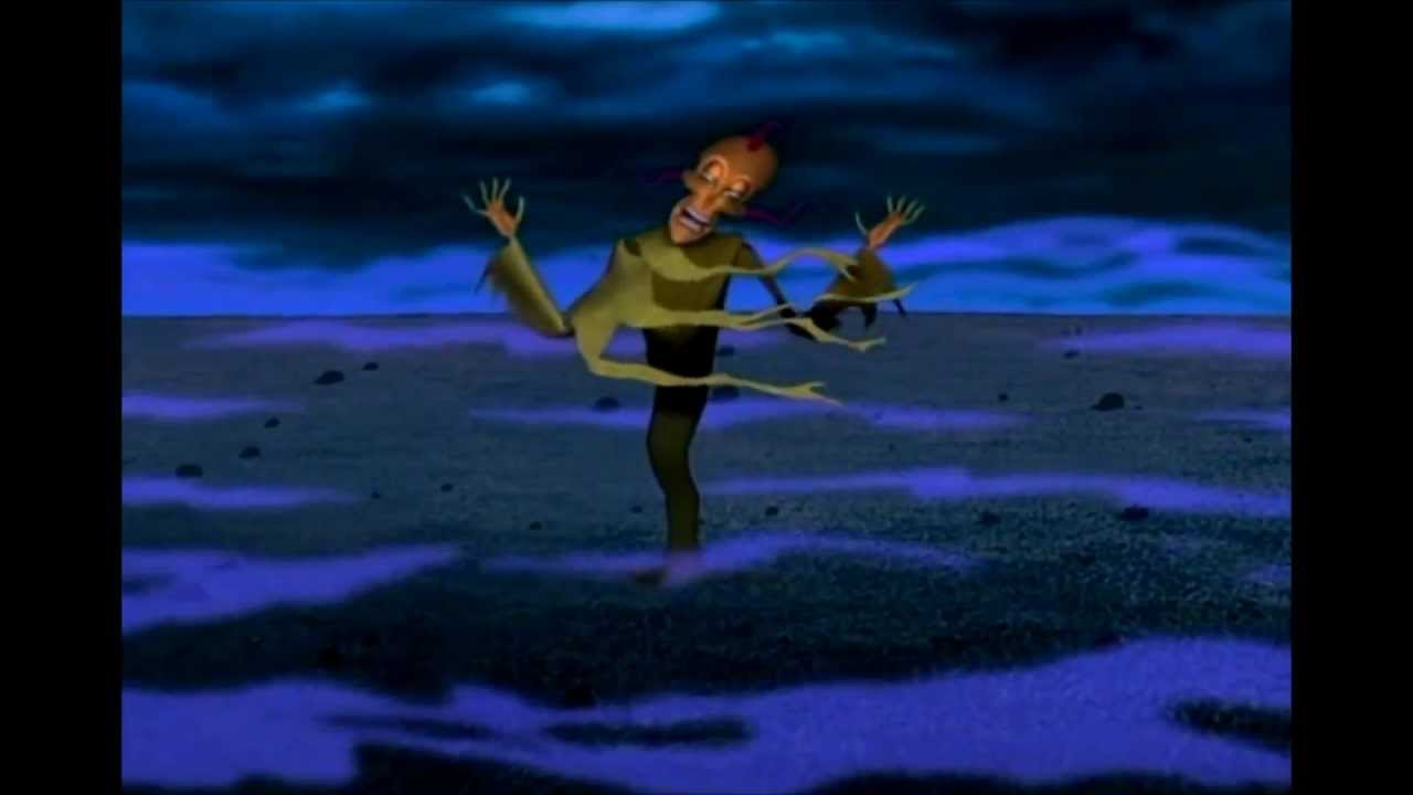 Courage the cowardly dog the clutching foot