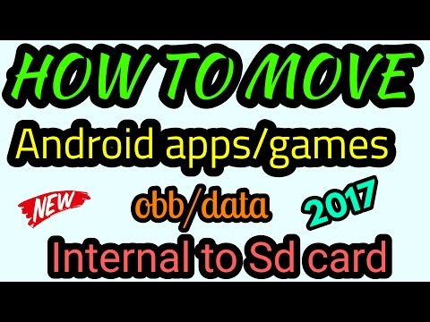 How to move apps/games to SD card without root in any android version