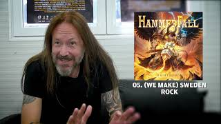 HAMMERFALL - (We Make) Sweden Rock (Dominion Track by Track) | Napalm Records