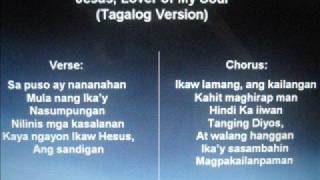 Jesus, Lover of My Soul (Hillsong) Tagalog Version