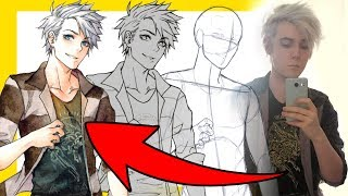 ?How To Draw Yourself?as an Anime Character