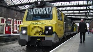 Stoke-on-Trent Overnighter - 28th to 29th August 2015. Rare, Diverted Freight!