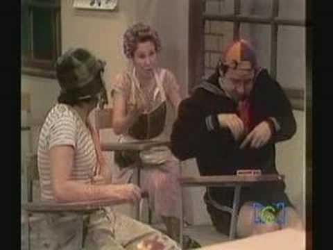 El Chavo del 8 - Examen con los padres - parte 1 Video