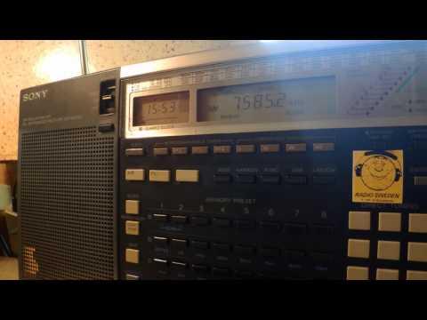 28 05 2016 Radio Latino in English to Eu 1552 on 7585 unknown tx site
