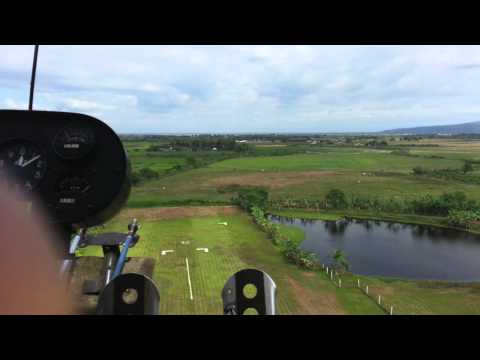 Flying Ultralight Plane in Angeles City