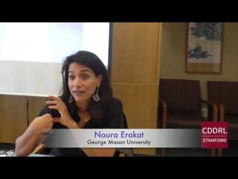 "ARD Stanford: Noura Erakat on ""War in Gaza in the Age of Human Rights"""