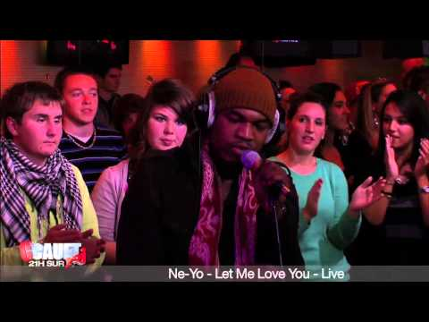 Ne-yo - Let Me Love You - Live - C'cauet Sur Nrj video
