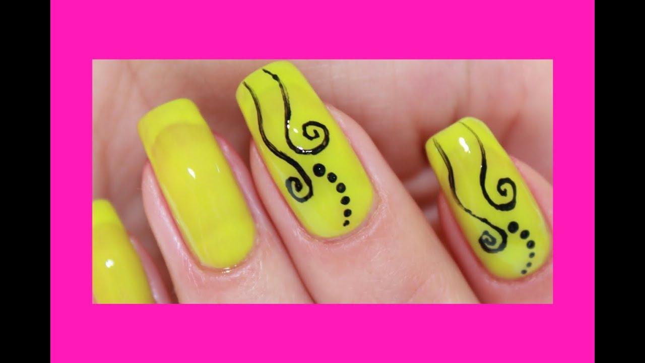 Красивые рисунки на ногти на