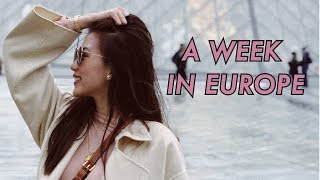 Whole family in Europe by Alex Gonzaga