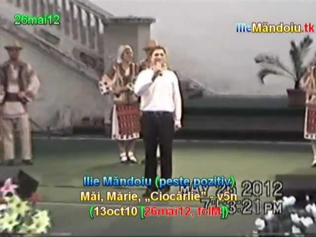 dedicatie pt. MARIA CIOBANU: Ilie Mandoiu - Mai, Marie, 'Ciocarlie' - v5n (13oct10 [26mai12, IM])