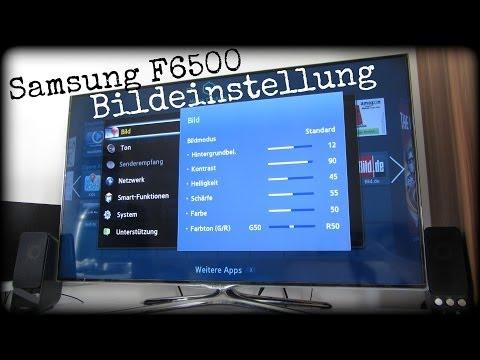 SAMSUNG UE46F6500 - BILDEINSTELLUNGEN   UE40/46/50/55   DEUTSCH HD