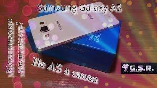 Обзор Samsung Galaxy A5.