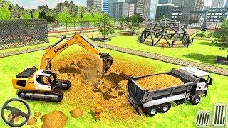 Construction Builder Animal Zoo - Excavator Simulator Animals World - Android GamePlay