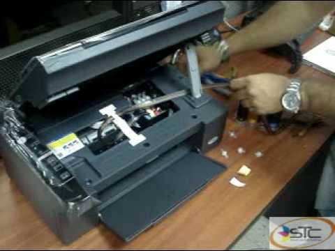 Instalacion Sistema continuo Epson TX105 STC