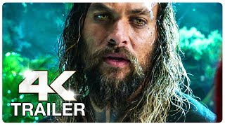 AQUAMAN Trailer 2 4K ULTRA HD NEW 2018