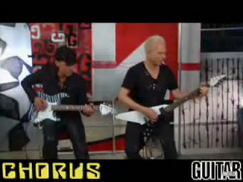Scorpions - Jabs & Schenker Guitar Lesson Part 1 (The Zoo + Blackout)